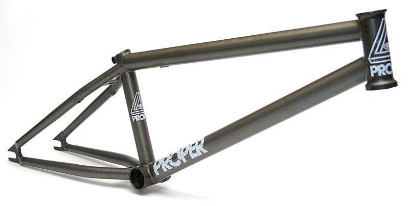 Proper 2011 frames | RideOn BMX - Rider Owned Distribution & Shop ...