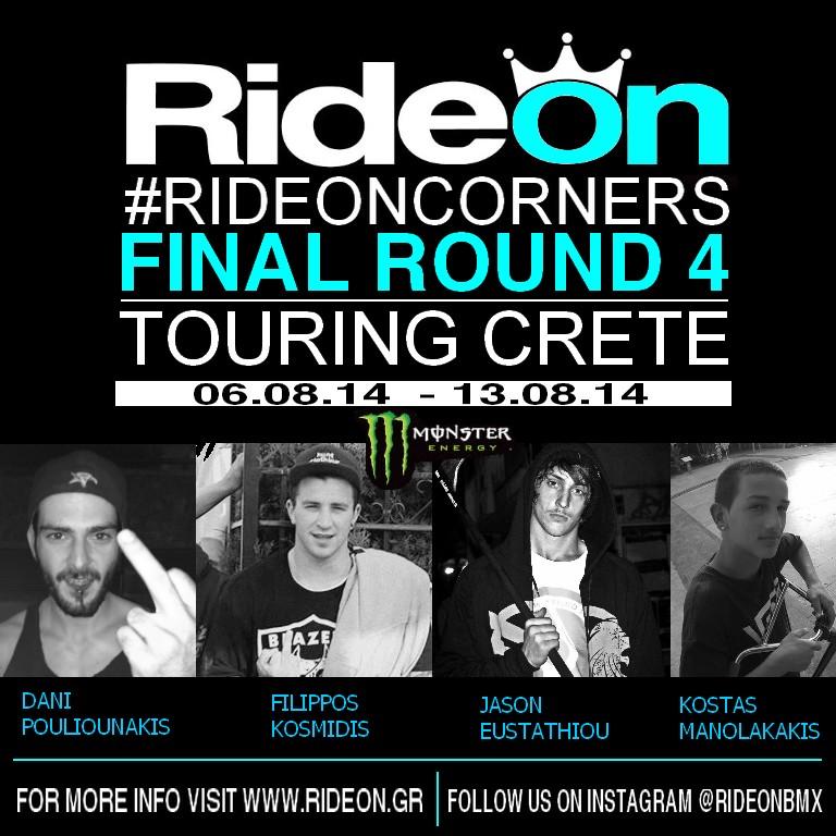 RideOn Final Tour at Crete